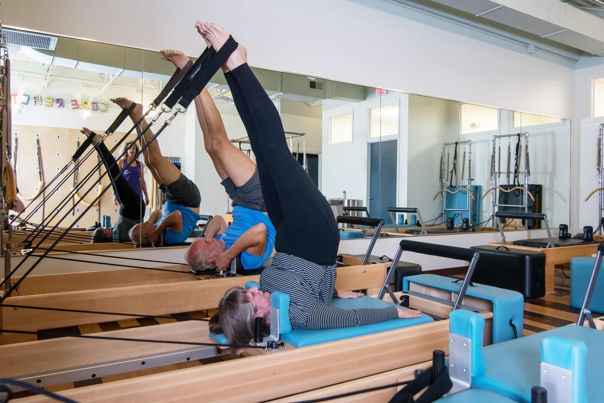 Photo of the Pilates Leg Exercise 01