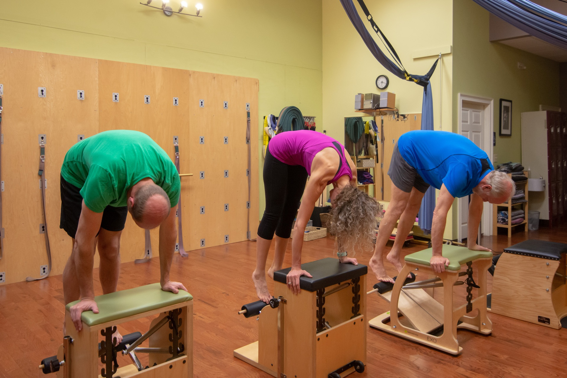 Photo of the Pilates Chair Exercise 01